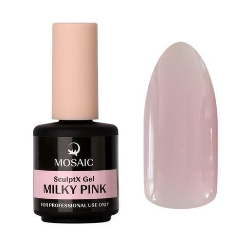 SculptX- Milky pink