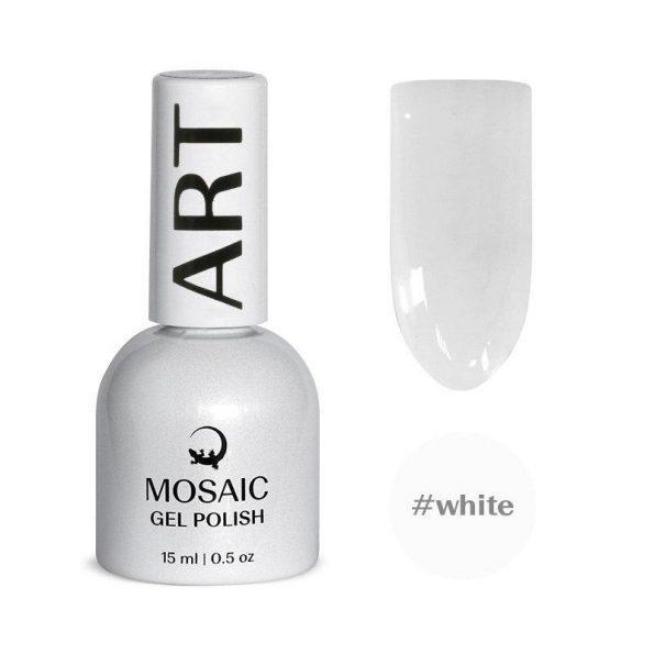 Gel polish/ #White