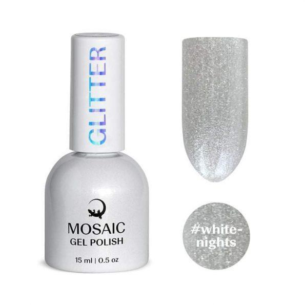 Gel polish/ #White-night